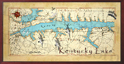 Kentucky Lake 16X32 canvas print