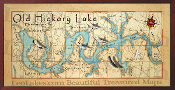 Old Hickory Lake 16X32 canvas print