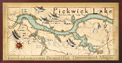 Pickwick Lake 16X32 canvas print