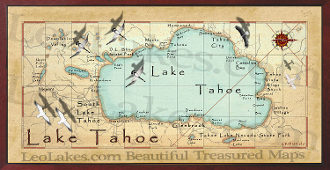 Lake Tahoe 16X32 canvas print