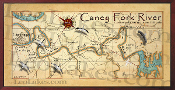 Caney Fork River 16X32 canvas print