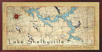 Lake Shelbyville 10x20 print