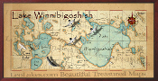 Lake Winnibigoshish 16X32 canvas print