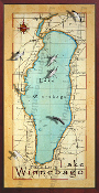 Lake Winnebago 16X32 canvas print