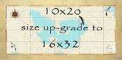 Map size up-grade 10x20 to 16x32